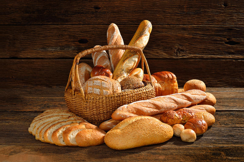 Bread and bakery royalty free stock image