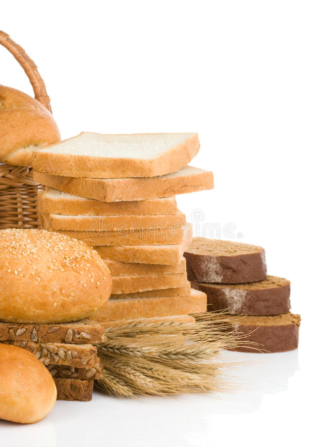 Bread And Bakery Products Royalty Free Stock Image