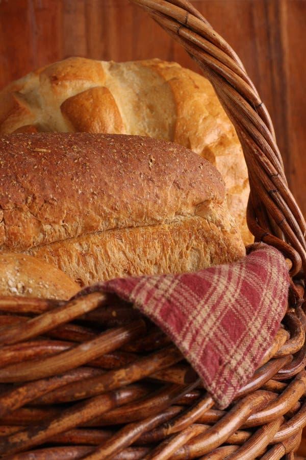 Download Bread basket stock photo. Image of roll, assortement - 15835298