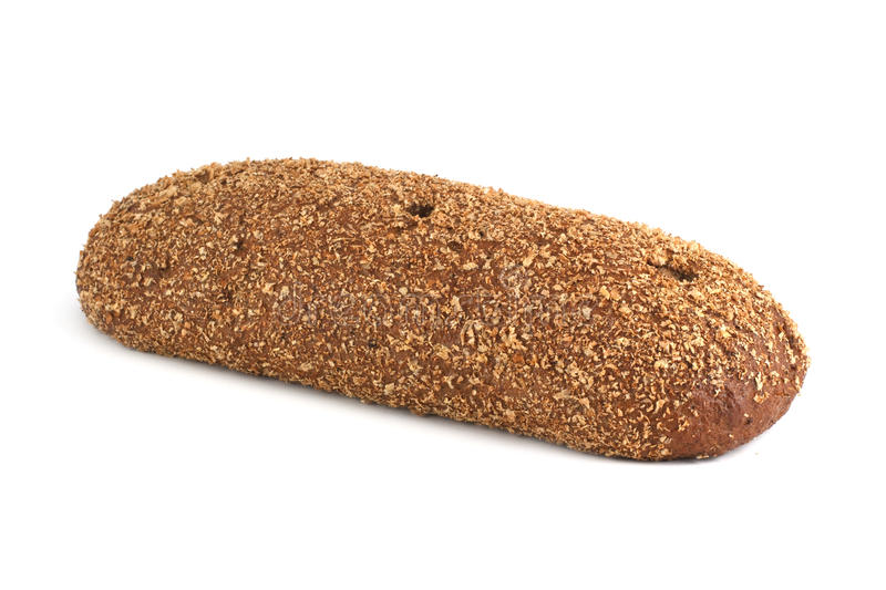 Bread with bran stock photography