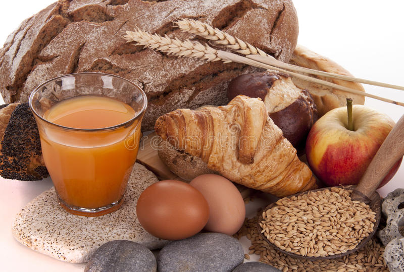 Download BREAD AND BREAKFAST stock photo. Image of brown, grain - 39501298