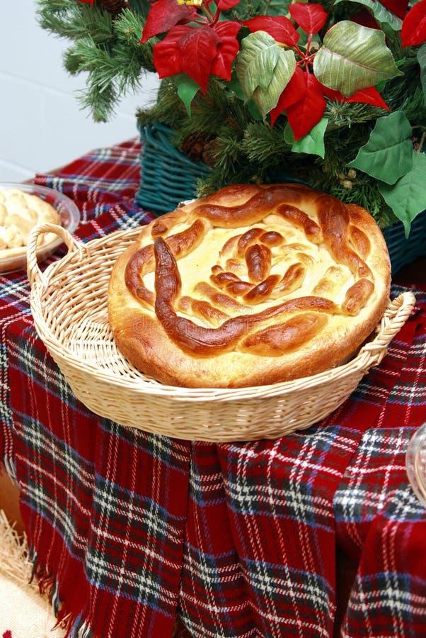 bread christmas στοκ εικόνες