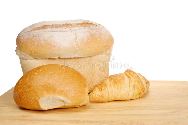 Bread and croissant