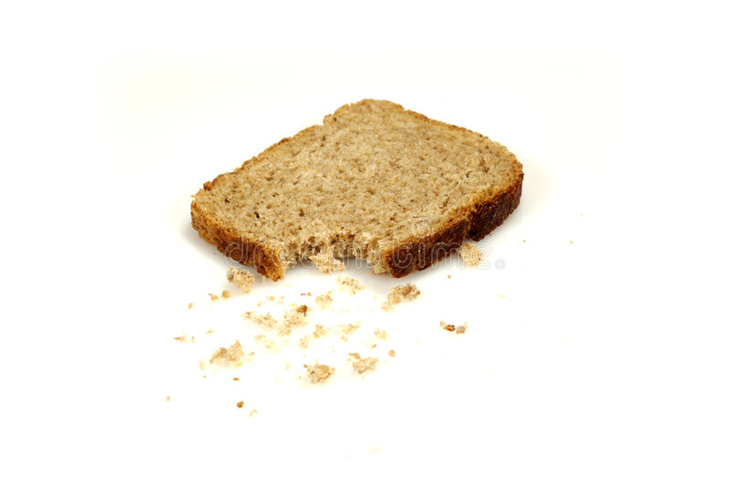 Download Bread With Crumbs (1) Stock Image - Image: 3436881