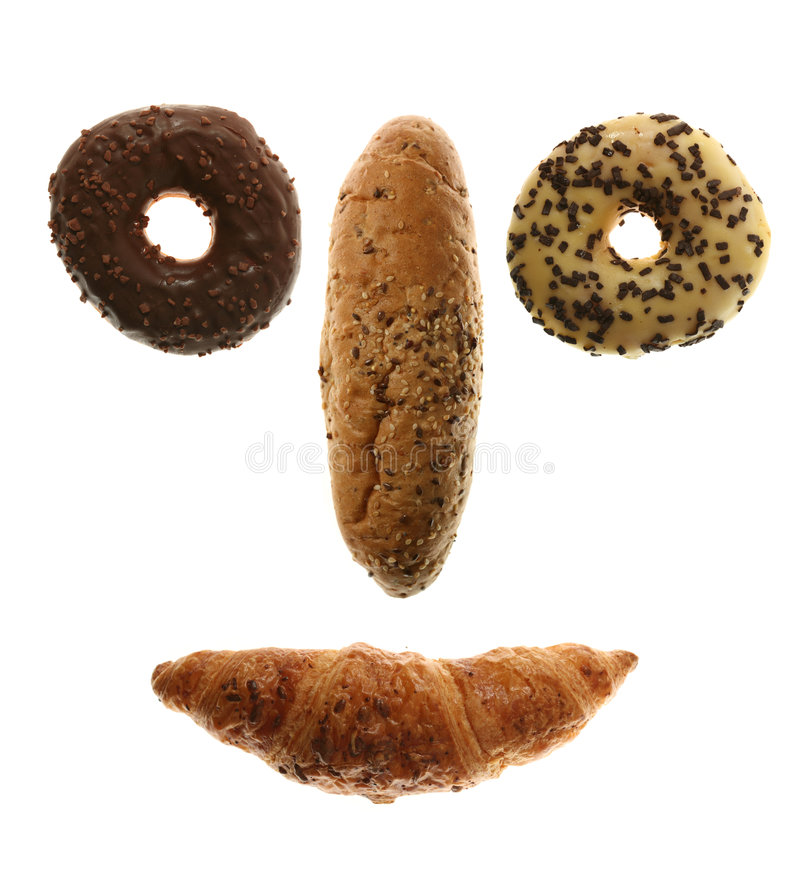 Download Bread Face stock image. Image of donut, bake, collection - 7304213