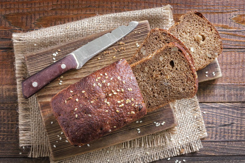 Download Bread stock photo. Image of cutting, diet, barley, breakfast - 33795402