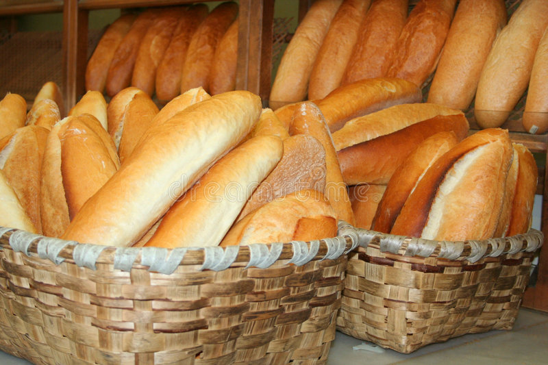 Download Bread full of basket stock photo. Image of done, turkish - 8923132