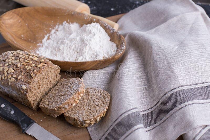bread home made στοκ εικόνες