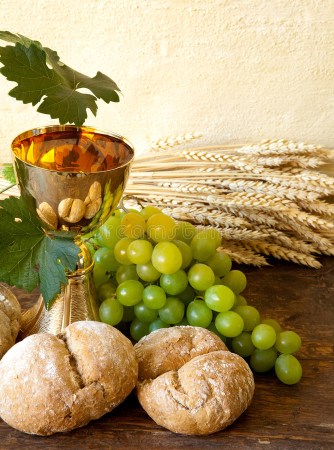 Download Bread of Jesus stock image. Image of grapevine, bunch - 18195689