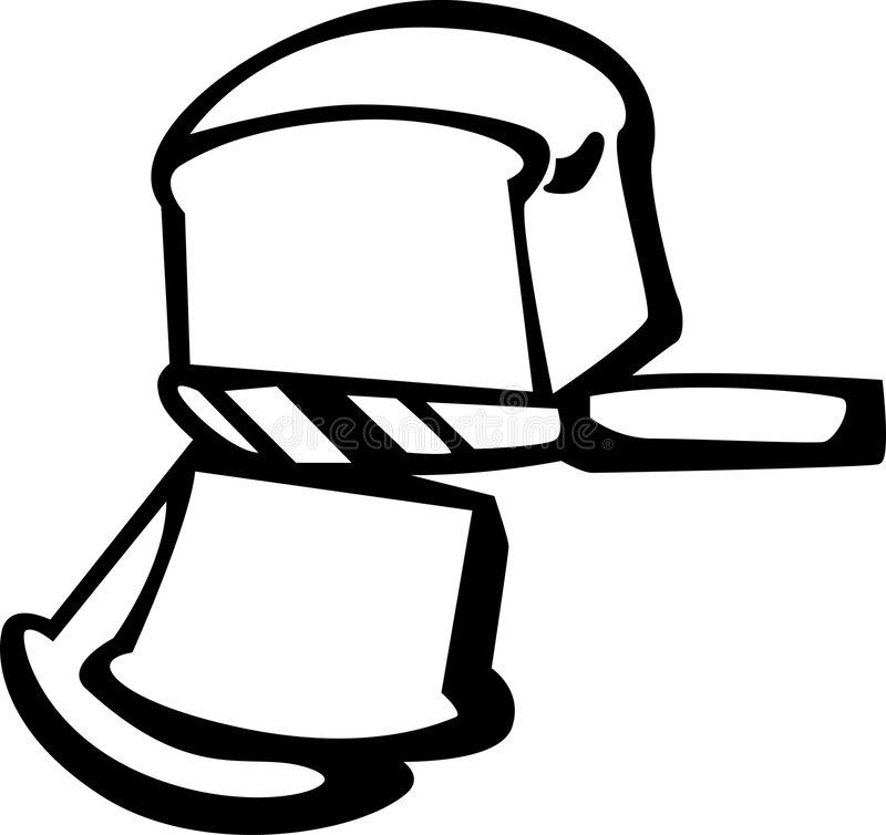 Download Bread Loaf Slicing With Knife Vector Illustration Stock Vector - Image: 1523689