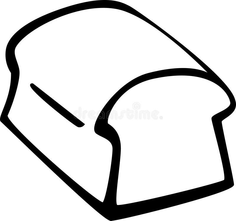 Bread loaf vector illustration royalty free illustration