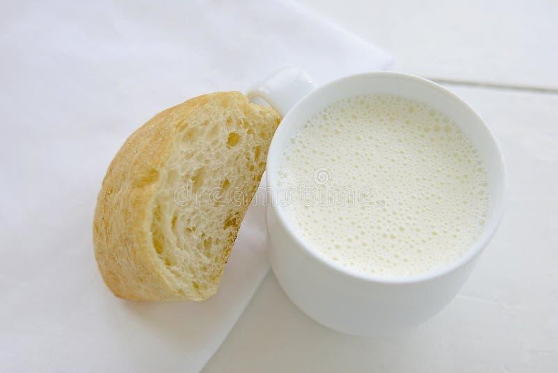 Download Bread and Milk stock photo. Image of prosperity, breakfast - 31921492