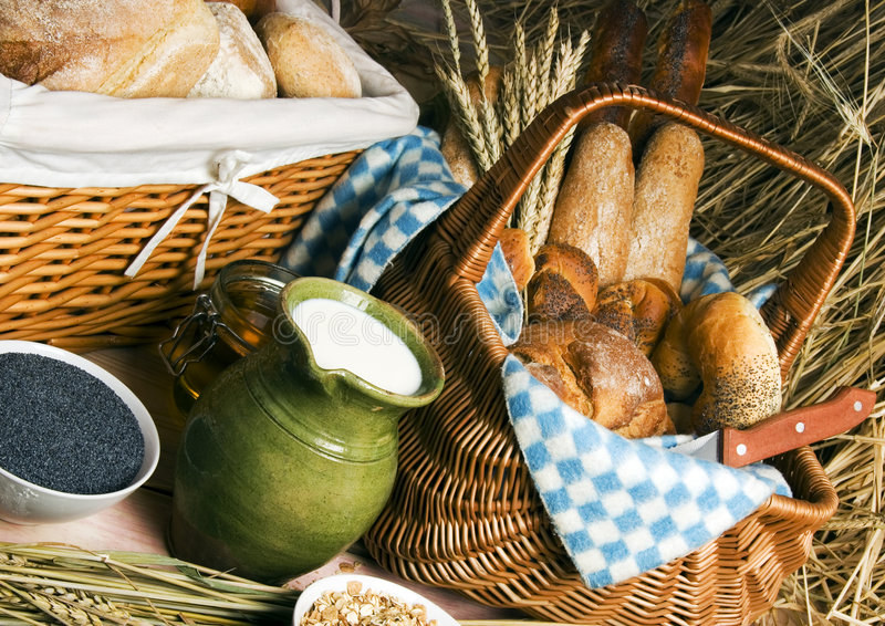 Download Bread mix stock image. Image of farm, bread, breads, agriculture - 1968465