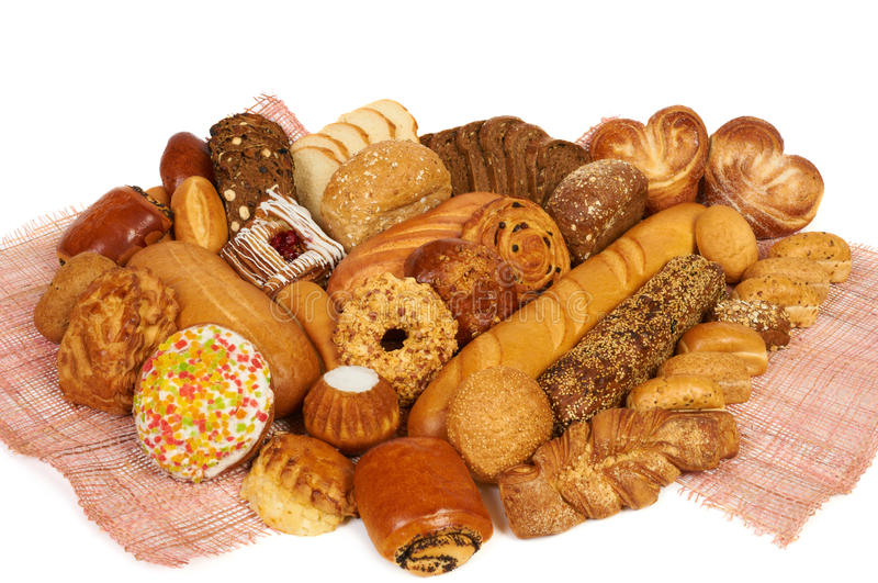Download Bread and pastry stock image. Image of golden, background - 21807865