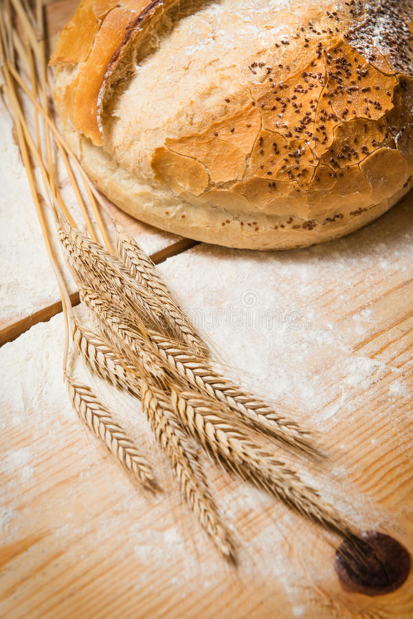 Bread rustic royalty free stock image