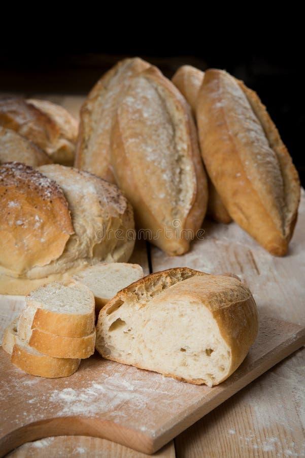Bread rustic stock photo
