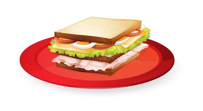 Download Bread sandwich stock vector. Illustration of illustration - 26941936