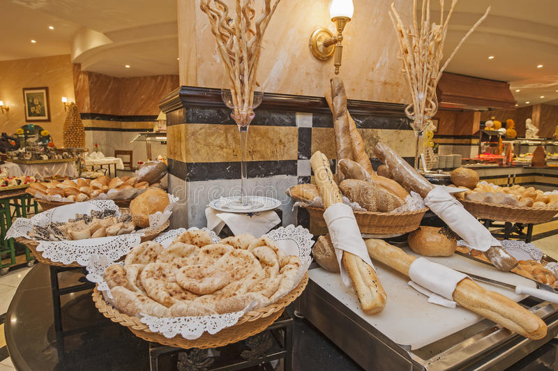 Download Bread Selection At Hotel Buffet Stock Photo - Image: 37889828