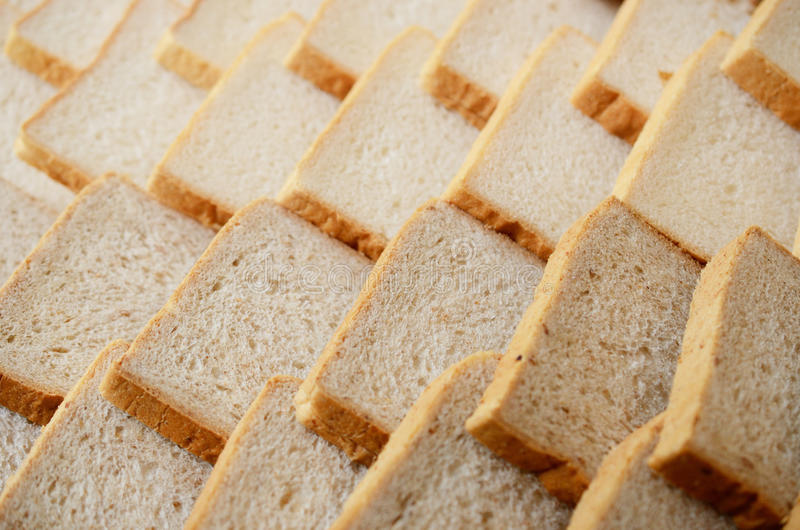 Bread Slice Background Stock Photography
