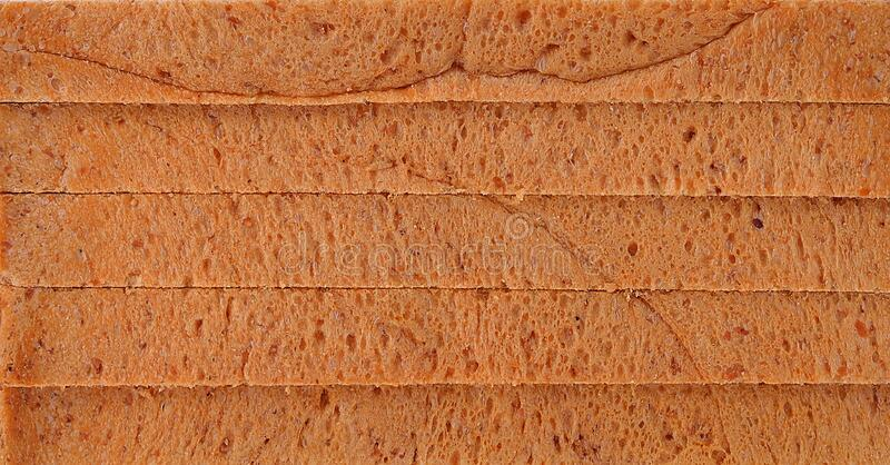 Bread slice , clipping path included.  royalty free stock images