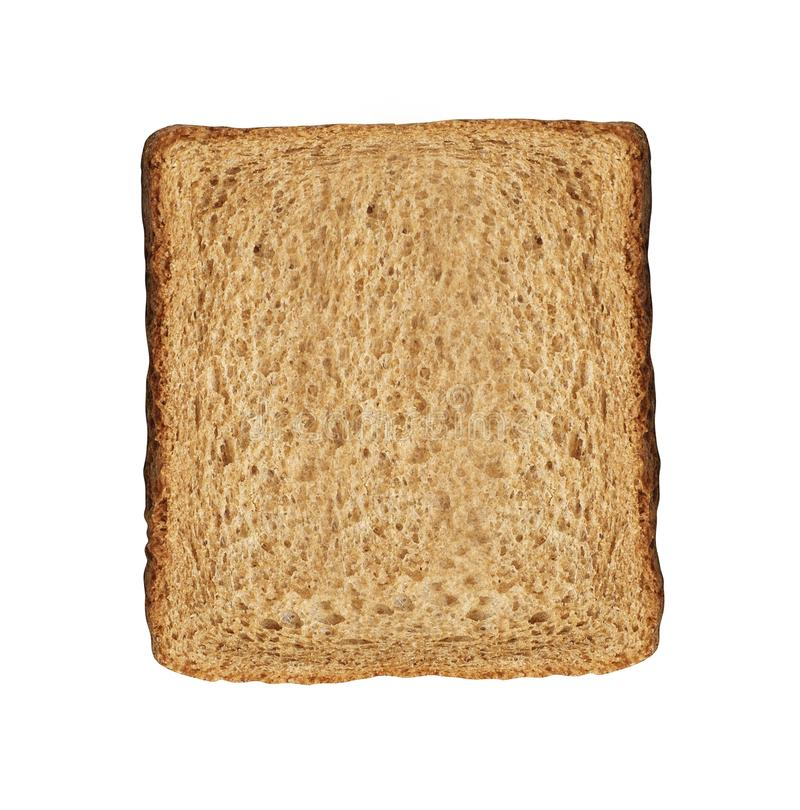 Bread slice isolated stock photography