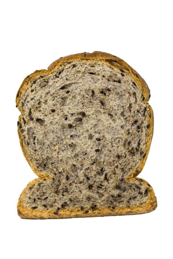 Bread slice royalty free stock photos