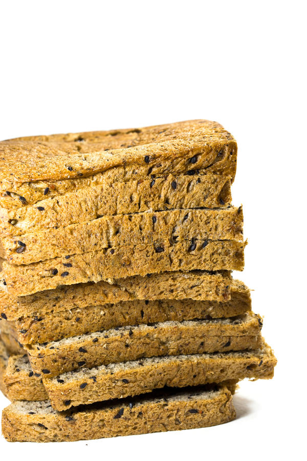 Bread slice stock images