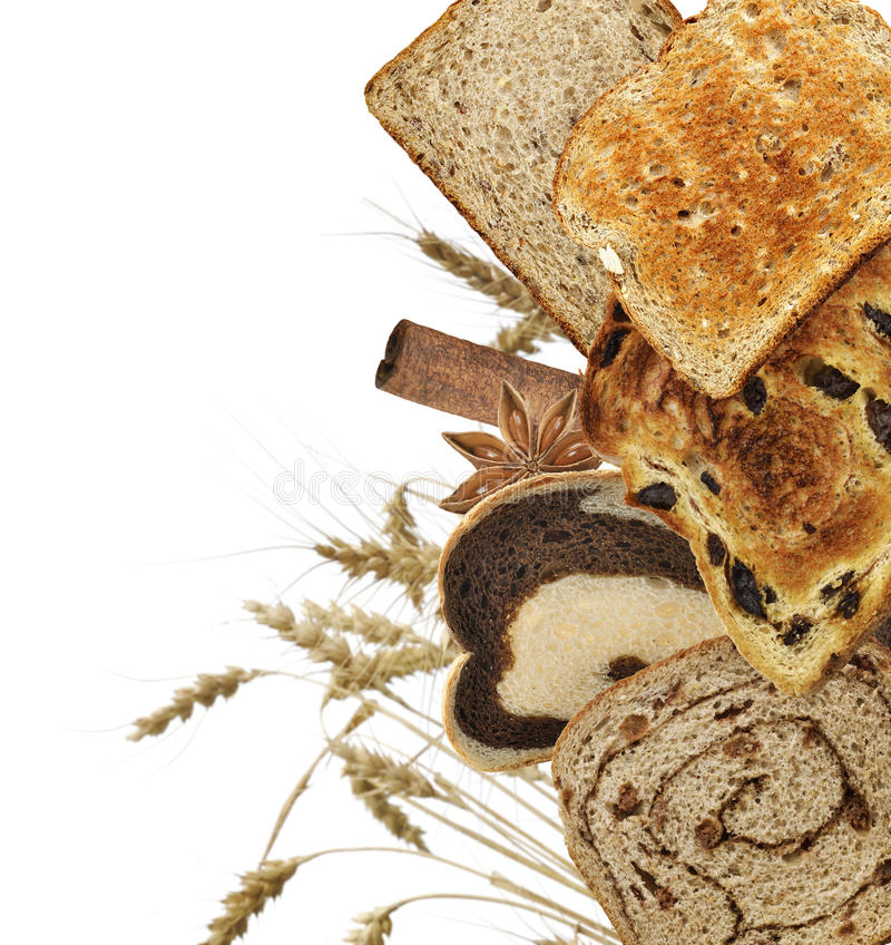 Download Bread Slices stock photo. Image of anise, toast, bread - 39508252