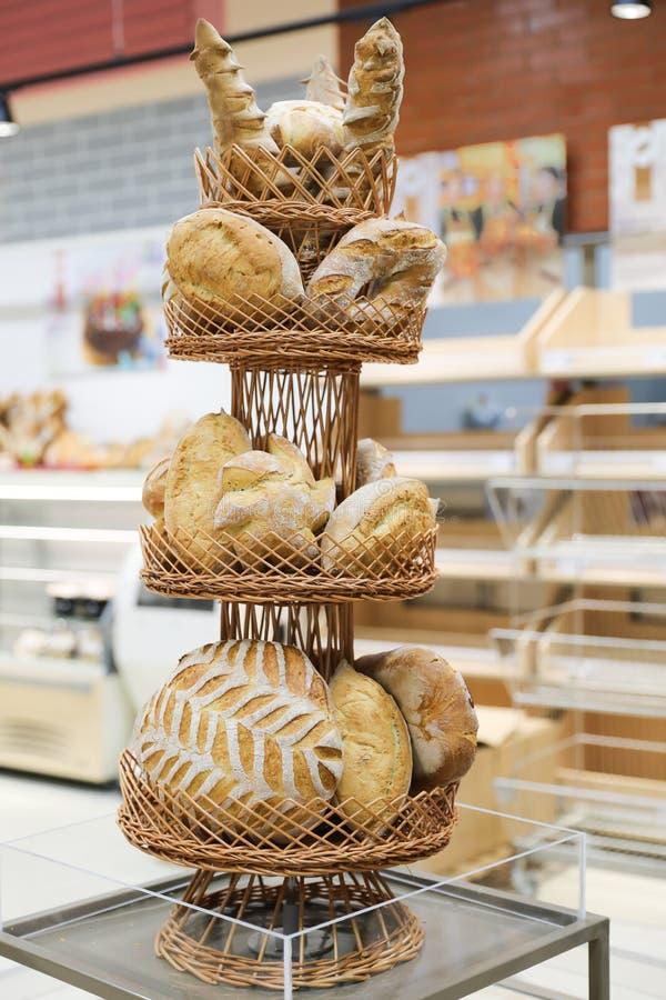 Bread specialty. Traditional bread specialty bakery raion shopciabata pave ornamente oltenesti romania stock photography