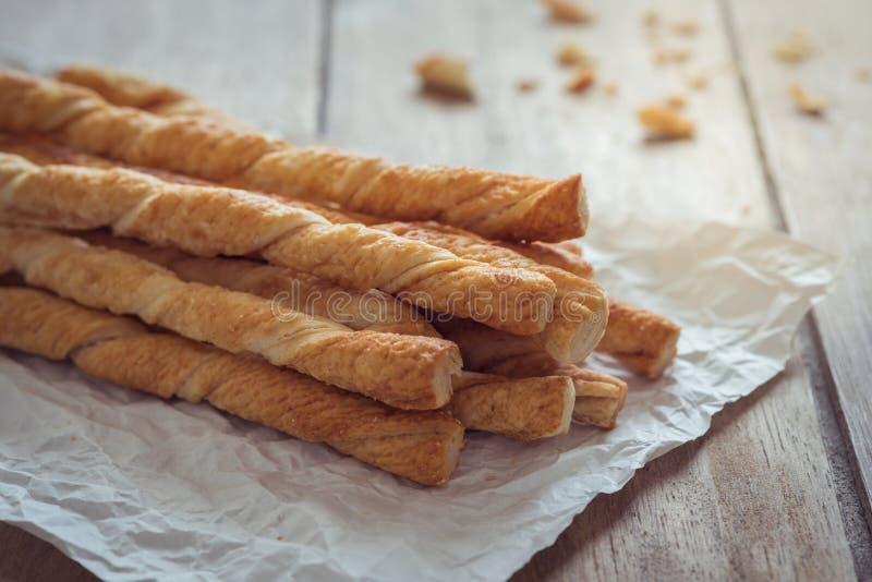 Bread sticks on baking sheet. Bread sticks on a baking sheet stock photos