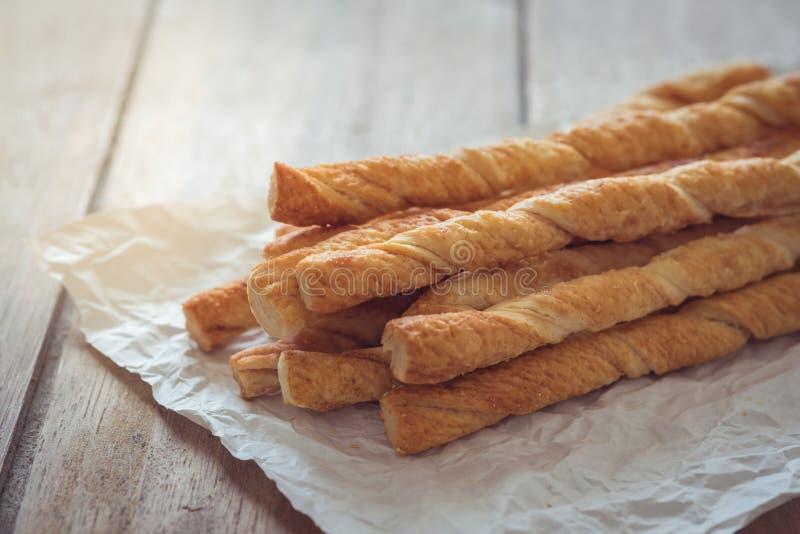 Bread sticks on baking sheet. Bread sticks on a baking sheet royalty free stock images