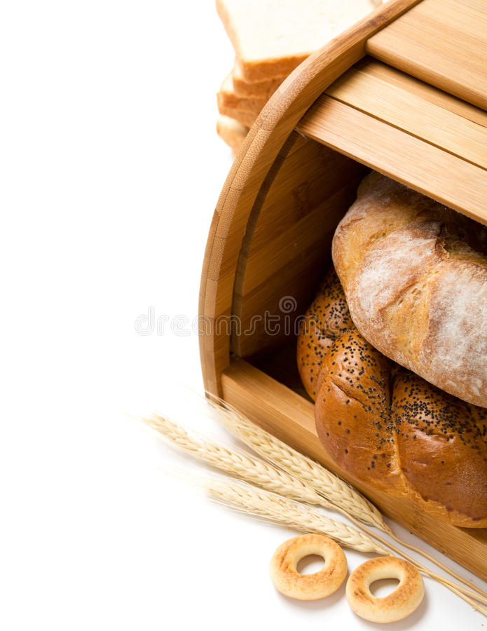 Download Bread Still Life With Space Stock Photo - Image: 24752194