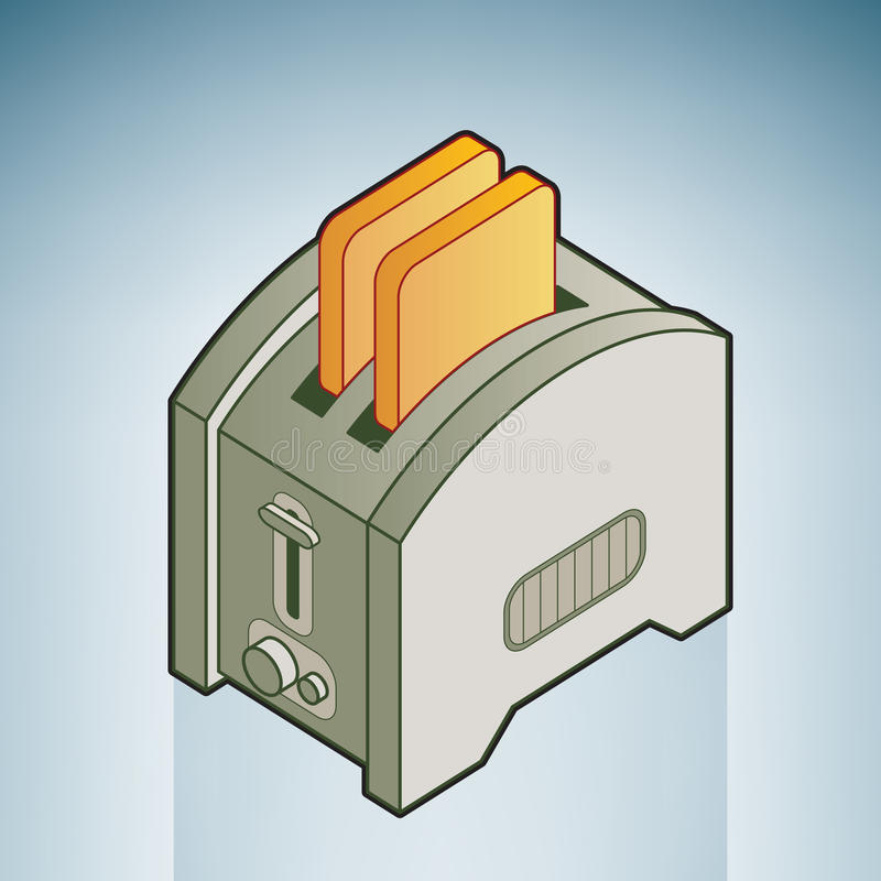 Bread Toaster Royalty Free Stock Photography