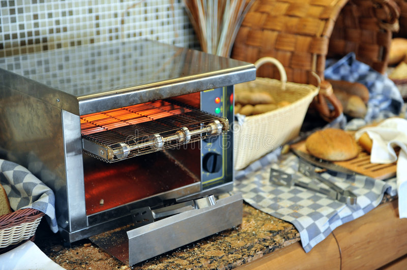 Bread Toaster royalty free stock images