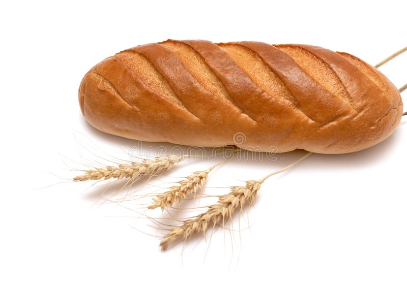 Bread and wheat royalty free stock photos