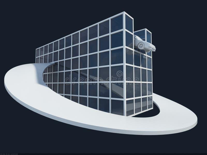 breadboard house2 μοντέλο διανυσματική απεικόνιση