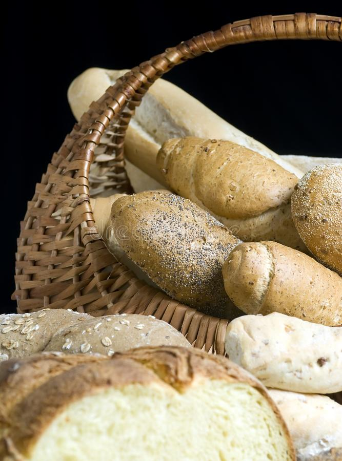Breads 4 stock images