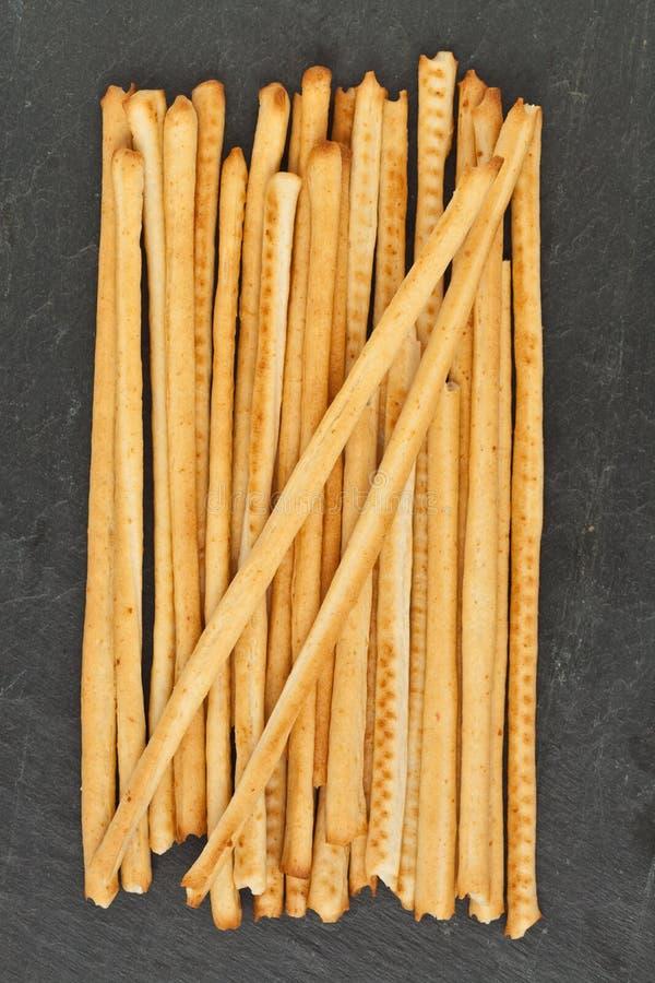 breadsticksgrissini arkivbild