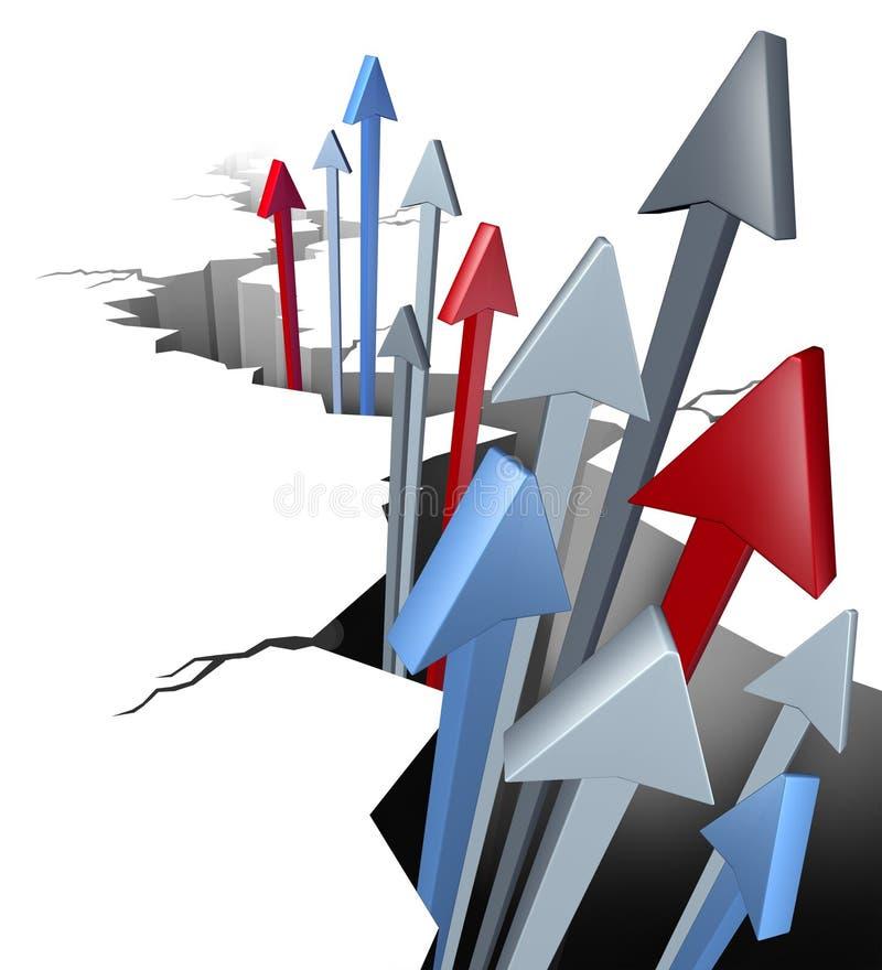 Download Break Through stock illustration. Image of emerging, wealth - 24032271