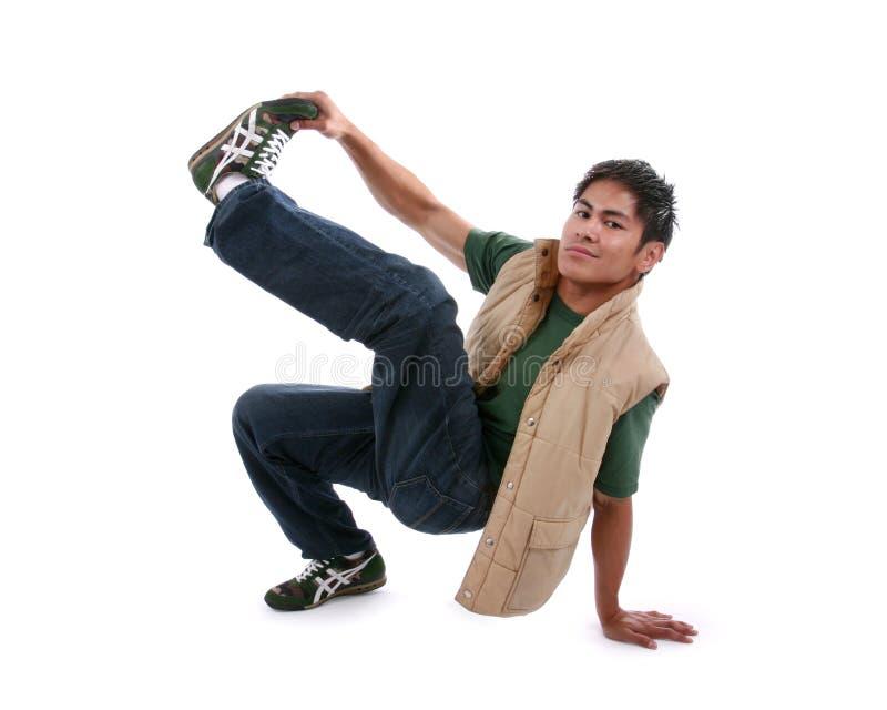Break dance stock photo