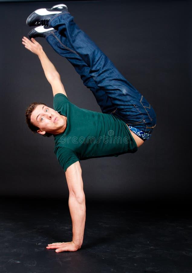 Break dance royalty free stock photography