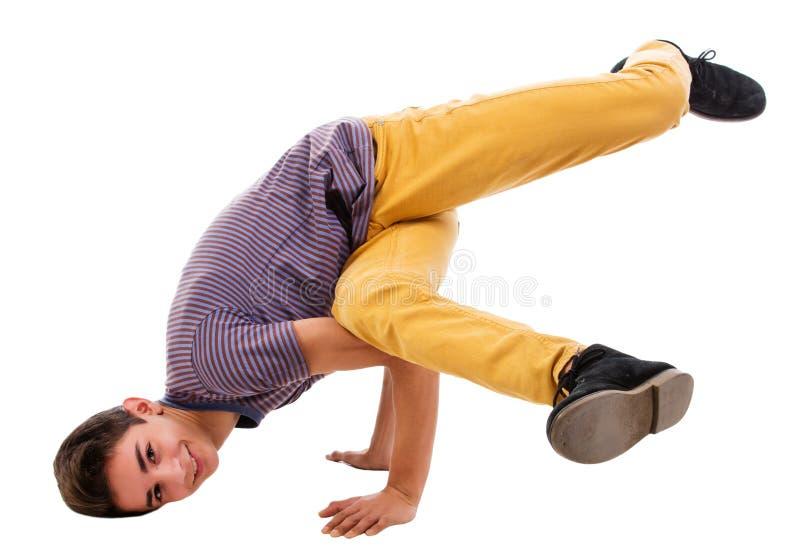 Break dance stock image