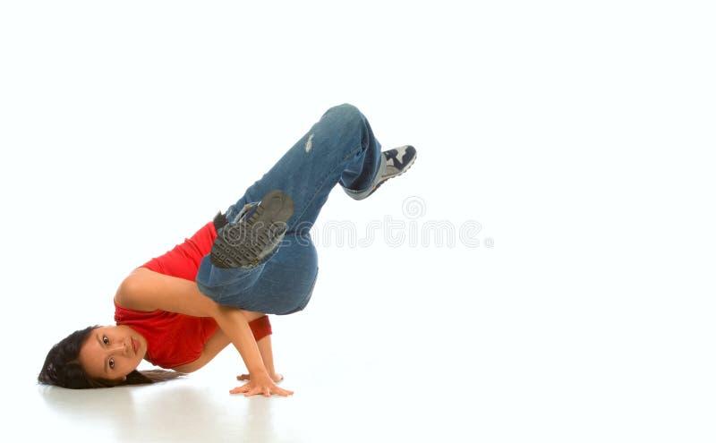 Break dancer #1 royalty free stock images