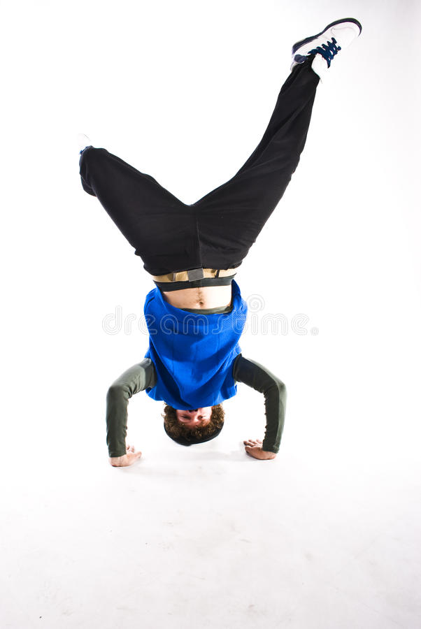 Break dancer stock photos