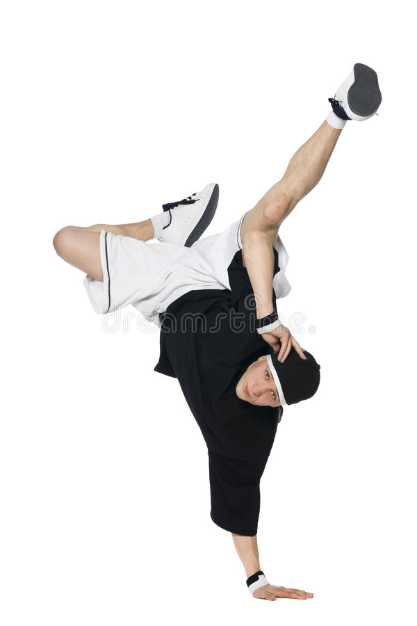 Break dancer royalty free stock images