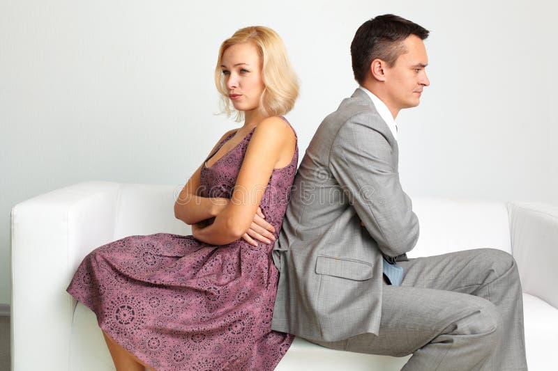 Break-up royalty free stock photo