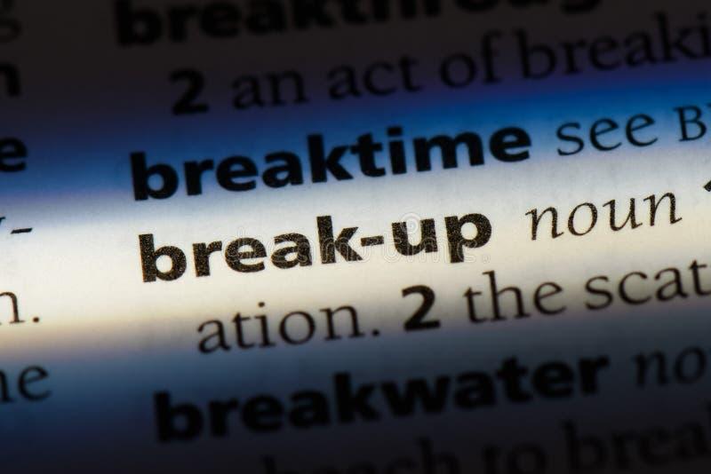 break-up stock images