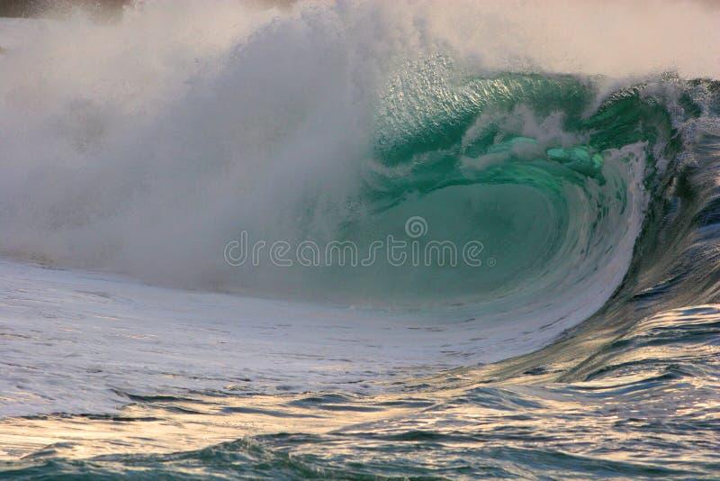 break3 waimea ακτών στοκ εικόνες