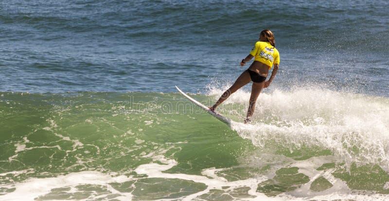 Surfing rywalizacja obrazy stock