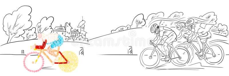 Breakaway. ilustração royalty free